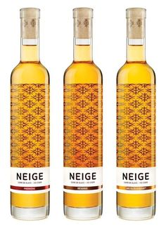 This frosty apple ice wine. | 33 Wine Bottles Every Design Lover Should See