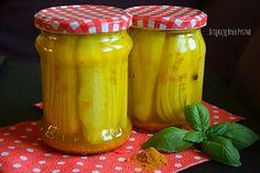 Pikle z curry - ogórki kanapkowe | Dziękuję Było Pyszne