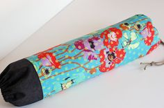 Fabric Plastic Bag Holder / Grocery Bag Holder by SUZUYA on Etsy, $12.50