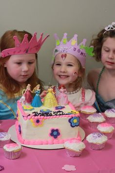 Princess birthday party ideas for little girls. Fun for everyone! #blog