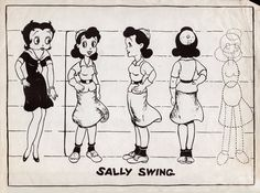 1930 character model sheet - Google Search