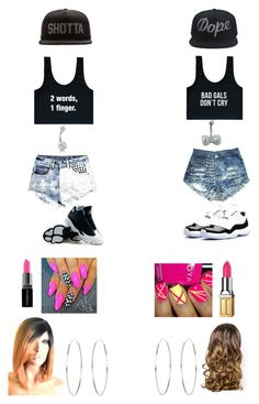 Untitled #36 by washingtontania on Polyvore featuring polyvore, beauty, Elizabeth Arden, Smashbox, Lipsy, Accessorize, Bling Jewelry, Boohoo, Concord and SSUR