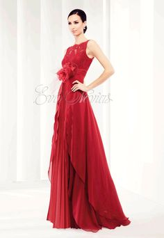 Vestido de fiesta y madrina de Patricia Avendaño colección 2016 modelo 1907 en Eva Novias Madrid calle Goya, 84 teléfono 914359458.