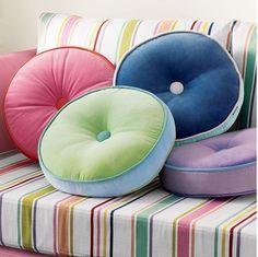 cor nas almofadas.