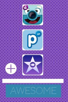 ChatterPix + Poplet + iMovie = #appsmashing