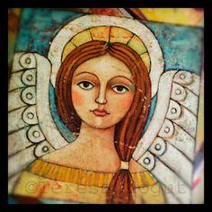 #angel #art by Teresa Kogut