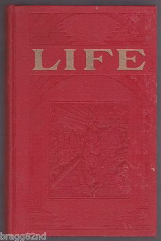 1929 hardcover LIFE by J.F. #Rutherford #ISBA INTERNATIONAL #BIBLE STUDENTS ASSOCIATION
