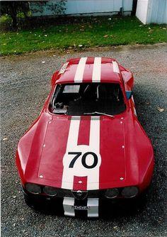 Alfa Romeo GTA prepared for competition