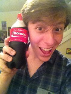 Thomas Sanders has inspired me to be myself and do the creative, hilarious, and spontaneous things that I'm always thinking up.