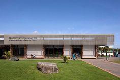 Following recent development of new commercial outlets away from Whakatane's town centre, Te Koputu a te Whanga a Toi : Whakatane Library