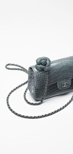 Lambskin flap bag embellished with... - CHANEL