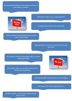 #Bewerbungstipp: ce qu'il ne faut pas dire en entretien / Zu vermeidende Sätze in einem Vorstellungsgespräch