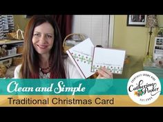 How to get inspired - CAS-ual Fridays CAS Holiday Card with Catherine Po...