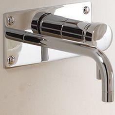 Single Control Lever Wall Mount Lavatory Chrome Faucet - Basin Faucets - Faucets