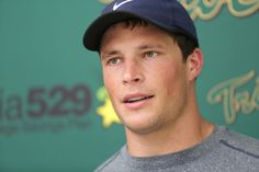 Pro Camp Luke Kuechly  Carolina Panthers linebacker Luke Kuechly talks in a question and answer session at Zable Stadium about how attending schools run by Jesuits, especially his high school, St. Xavier, taught him that you don't get anywhere by yourself.  http://www.dailypress.com/sports/breaking/dp-william-and-mary-pro-camp-20140622-061-photo.html