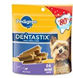 Pedigree Dentastix Daily Oral Care Mini Snack Food for Toy/Small Dogs, 6-Ounce Pouches (Pack of 12) $49.99