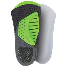 iMCustom Casual LockFit Premade Insoles: These are designed to offer heel strike impact reduction, adjustable arch support and increased energy return with each step.