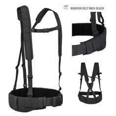Tasmanian Tiger Warrior Belt MK III Black - Cinture - Equipment
