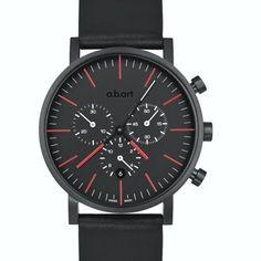 Heel mooi a.b.art horloge OC 150 chronograaf. Verkrijgbaar bij Edelsmid Ton van den Hout Roermond.   Beautiful a.b.art watch chronograph OC 150.   www.tonvandenhout.nl