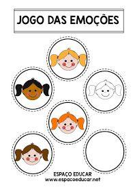 ATIVIDADE LÚDICA E EDUCATIVA PARA ALFABETIZAÇÃO - O JOGO DAS EMOÇÕES - LEITURA, INTERPRETAÇÃO, RECORTE E COLAGEM - ESPAÇO EDUCAR Social Emotional Learning, Professor, Education, Comics, School, Kids, Bonding Activities, Preschool Literacy Activities, Kids Learning Activities