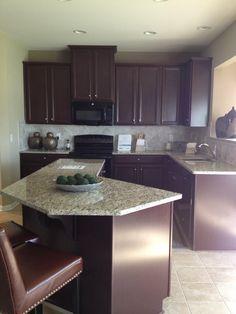 "Ryan Homes kitchen ""The Venice"""