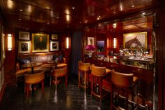 Customers at our Men's Flagship store in Hong Kong can enjoy classic cocktails - like the Old-Fashioned - at the exclusive built-in bar