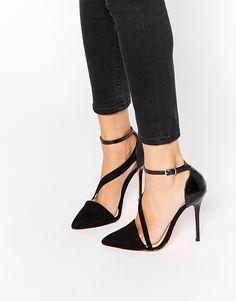 Image 1 of Carvela Autumn Asymmetric Strap Heeled Shoes