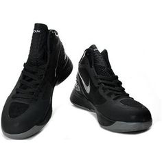 http://www.asneakers4u.com/ Blake Griffin Shoes Nike Zoom Hyperdunk 2011 Black/Grey
