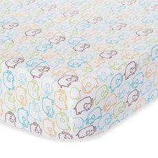Zutano Elephants Fitted Crib Sheet - Bed Bath & Beyond
