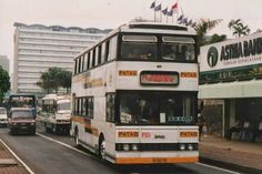 Bis Tingkat Patas 1 Jurusan Blok M - Kota