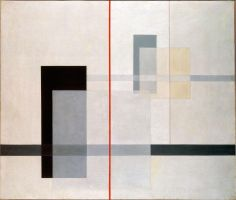 K VII, Laszlo Moholy-Nagy, 1922.     Strongly reminds me of Mondrian, however, more subtle.