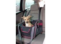 Sac de #transport spécial siège #auto. Profitez de la compagnie de votre #chien en voiture en toute sécurité. http://www.animaleco.com/catalogue/chien/accessoires-chien/transport-du-chien/sacs-transport-chien/pochette-siege-auto-axion-41x34x30-cm-noir-rge