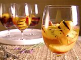 Picture of Grilled Peaches in Wine Recipe