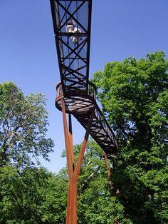 The Happy Pontist: London Bridges: 3. Xstrata Treetop Walkway - Kew Gardens