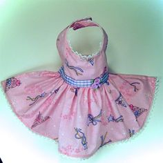 Little Dog Fashion Pet boutique features Pink Fairy Princess Lace Dog Dresses for small teacup and toy breed dogs like Maltese and yorkies in sizes XXS, XS, S, M. These designer clothes are handmade and are decorated with venise lace