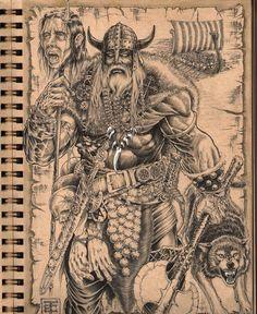 Vikings by eriktorres on DeviantArt