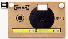 La Fotocamera Ikea di Cartone Arriva per Tutti