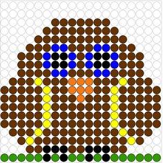 Kralenplank: uil Kralenplank Uil 5