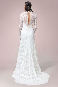 Chloe Gown   Rue De Seine Wedding Dress Collection