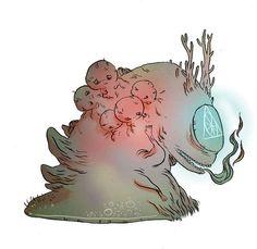 Creature # 142 : FORASPRI by Renart