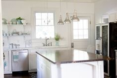White Dream Kitchen {On a $5K Budget}-The Reveal - Restless Arrow