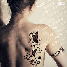 Résultats de recherche d'images pour «tatouage papillon dentelle»