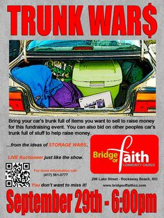 One of this morning's Good Morning Ozarks interviews: Pastor Jonathan McGuire of Bridge of Faith Community Church - Trunk Wars fundraiser