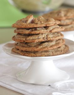 Bakery Style Oatmeal Chocolate Chip Cookies - Picky Palate