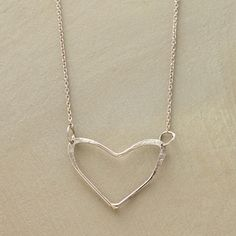 From the heart necklace