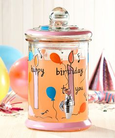 Take a look at this Jay Imports Happy Birthday Beverage Dispenser by Birthday Baking Collection on #zulily today!