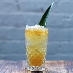 Don't be fooled by the playful name, this is one serious cocktail. A Caribbean classic that's meant to cool you down, even on the hottest day. Traditionally wit