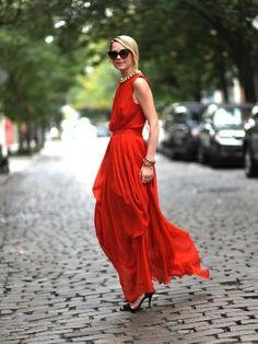 Стил на денот: Летни долги фустани | runway
