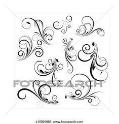 Clipart of Vector Swirls - Search Clip Art, Illustration Murals, Drawings and Vector EPS Graphics Images - Eps Vector, Vector Art, Stencils For Wood Signs, Medical Illustration, Conceptual Design, Art Icon, Free Illustrations, Royalty Free Photos, Art Images