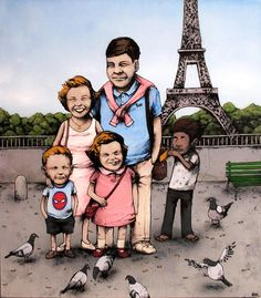 The Fantastic Art Of Dran, The French Bansky
